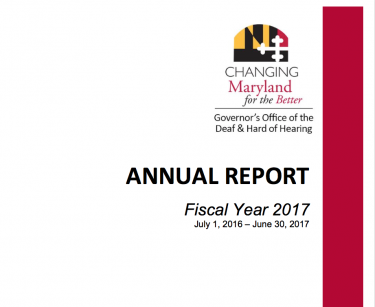 Governor's Office of the Deaf and Hard of Hearing releases FY17 annual report